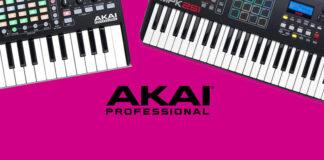 5 AKAI MIDI Keyboards