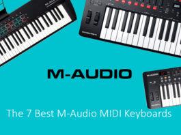 The 7 Best M-Audio MIDI Keyboards