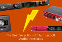 The Best Selection of Thunderbolt Audio Interfaces