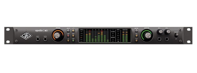 Universal Audio Apollo X6 Thunderbolt 3 Audio Interface