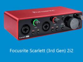 Focusrite Scarlett (3rd Gen) 2i2
