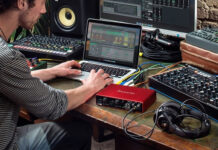 Focusrite audio interfaces for music producers