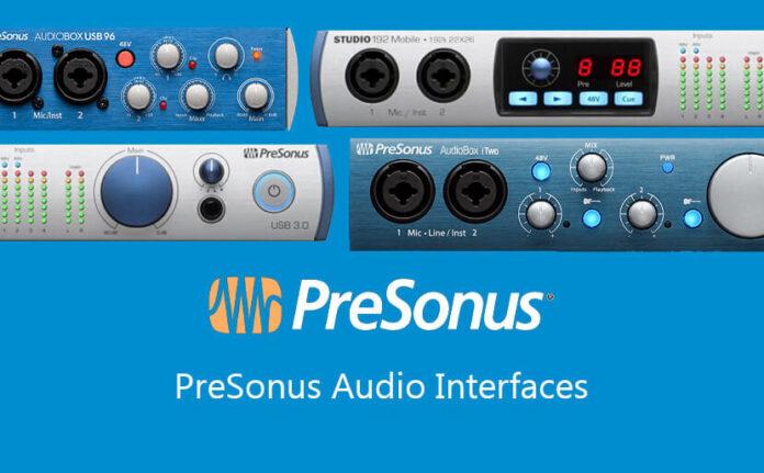 PreSonus Audio Interfaces