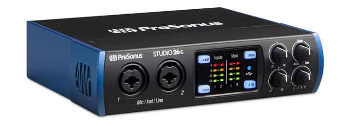 PreSonus Studio 26c USB-C
