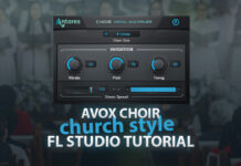 Church Style Choir Effect using Avox Choir in FL Studio Tutorial