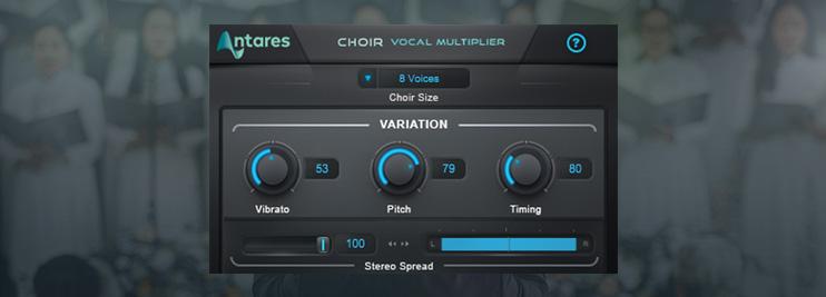Avox Choir Settings in FL Studio