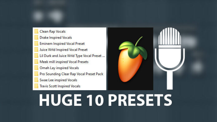10 Most Wanted Rap Vocal Presets