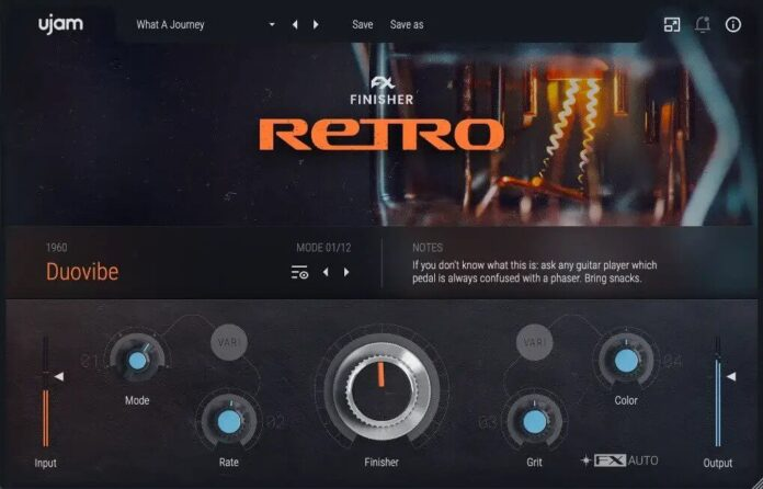 retro vst plugin by UJAM