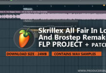 Skrillex All Is Fair In Love And Brostep Remake Flp + Patches