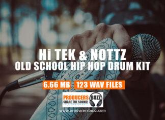 Hi-Tek & Nottz Free Old School Hip-Hop Drum Kit