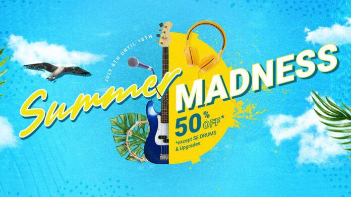 UJAM Instruments Summer Madness Sales
