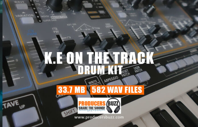 K.E on The Drum Kit For Hip-Hop Music Producers