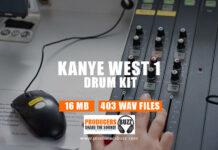 Kanye West V1 Inspired Drum Kit