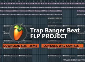 Free Guitar Trap FL Studio Project FLP File