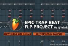 epic trap flp fl studio project file